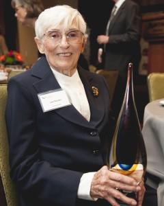 Ann Mactier literacy award recipient