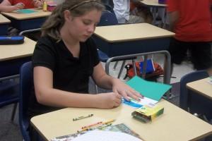 Students Log Tadpole Growth