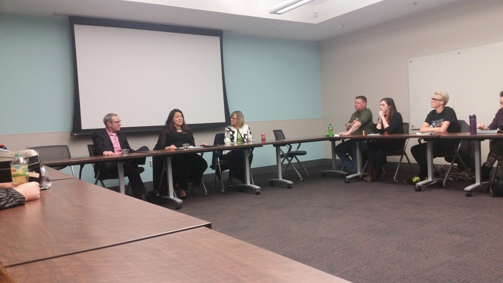 Patrice Monnier was part of MavPRSSA's panel.