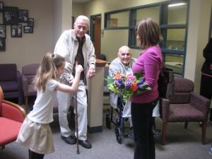 Bridget Welcomes Mr. Harper and Mr. Gary Robbins