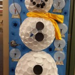 Mrs Schweers door decoration